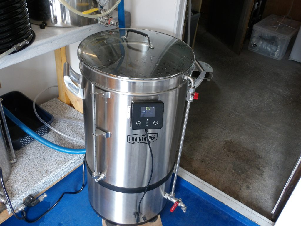 The Grainfather G70 Brewery